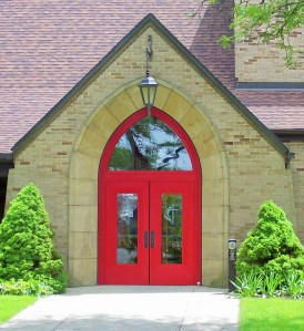 Red, Church Doors